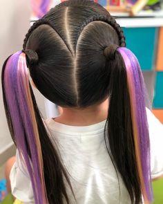 Kids Braided Hairstyles, Hairstyles For School, Cute Hairstyles, Kids Hairstyle, Tiger Hair, Volleyball Hairstyles, Sams Hair, Chignon Hair, Braids For Kids