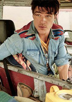 Finn Wittrock photographed for GQ Magazine.