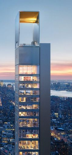 262 Fifth Ave, to be developed 2018. Designed by Meganom, the Moscow-based avant-garde architecture firm led by Yury Grigoyan and co-founder Ilya Kuleshov, with Elena Uglovskaya and Artem Staborovsky,