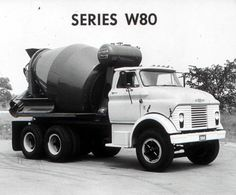 1964 Chevrolet Mixer Truck Factory Photo u5022-I73QN9