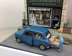Car Diorama Model