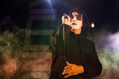 Jaz Coleman of Killing Joke performs at The Roundhouse on November 6 2015 in London England