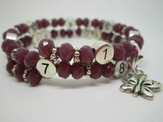 Lactobijou papillon mauve brillant Mauve, Beaded Bracelets, Jewelry, User Guide, Hand Made, Papillons, Beads, Jewerly, Jewlery