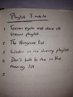 T-Mobile playlist