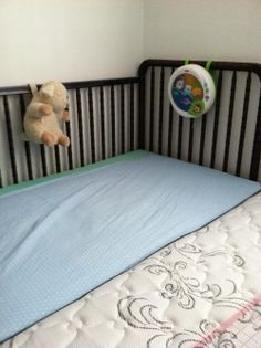 So, you've decided that co-sleeping/bed-sharing is what works best for your family. However, many bed-sharing families often find that one parent gets less-than-adequate space and ends up on the couch. My own husband spent four months on. Sidecar Crib, Co Sleeper Crib, Old Bed Sheets, Family Bed, Diy Crib, Best Crib, Crib Mattress, Having A Baby, Baby Sleep