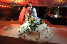 Wedding Cake at Villa Baroncino in Tuscany
