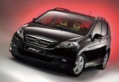 Honda FR-V is well-packed vehicle, which was probably inspired by the car Fiat Multipla, which can accommodate six people along with their luggage.  FR-V has three seats in two rows, while the second row of seats can move back in order to ensure am