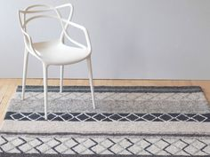 With more than just a hint of Scandinavian design influence and interesting colour and textiles, the fresh Farao Rug by Linie Design is a whimsical take on a typical geometric pattern. Featuring bands of colour with contrasting diamond and stripe detailing, this exciting rug will elevate any modern living space as well as suit any home. The Farao Rug is made from hand-woven 55% New Zealand wool & 45% viscose.