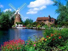 Hunsett Mill Norfolk ---- England ----