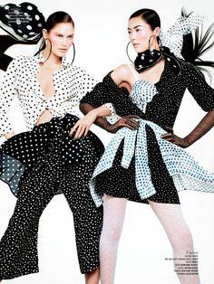 Supermodels by Sharif Hamza for V Magazine Spring 2013