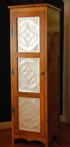Jelly Cabinet / Pie Safe  /  Food Cupboard  by SauteeWoodWorks,