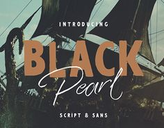 """Check out new work on my @Behance portfolio: """"Black Pearl Font"""" http://be.net/gallery/44540489/Black-Pearl-Font"""