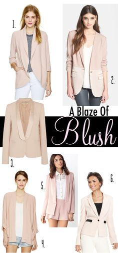 Blush Blazers for Spring Summer 2014 Style_edited-1