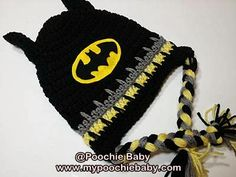 Crochet Batman Hat