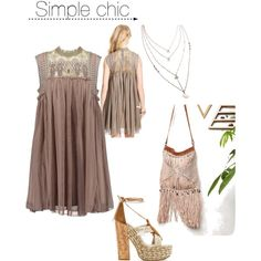 Simple chic by itisacs on Polyvore featuring polyvore, fashion, style and Free People