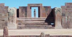 CARDINAL. Los monolitos en el templo señalan la salida del Sol.