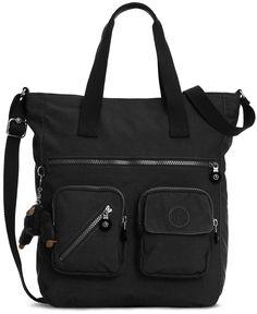 """Kipling Johanna Tote - Handbags & Accessories - 15-1/4"""" W x 12-1/4"""" H x 7"""" D  Macy's"""