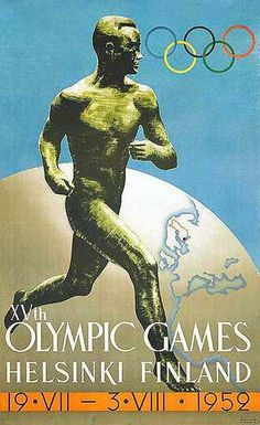 Helsinki, Finland The Games were cancelled due to the outbreak of World War II. Helsinki eventually held the 1952 Summer Olympics. Summer Games, Winter Games, History Of Olympics, Olympic Logo, Summer Poster, Modern Games, Going For Gold, Atlanta, Summer Olympics