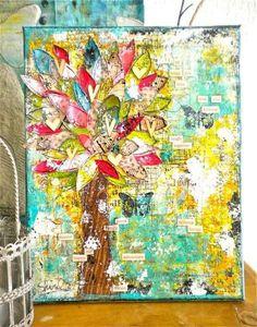 arbre à coeurs by Shirel!