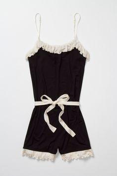 32670344df5 Anthropologie Cornice Jersey Romper Loungewear Ruffled Playsuit By Bordeaux  Sz S