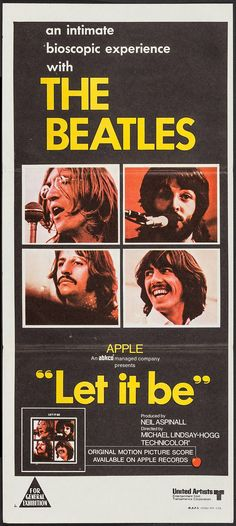 Let It Be (United Artists, 1970). Australian Post-War | Lot #52245 | Heritage Auctions