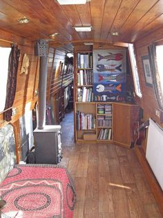 Not for me but such textile narrowboat beauty