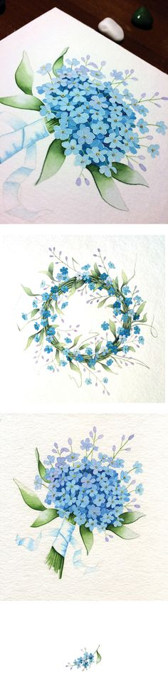 forget-me-not on Behance