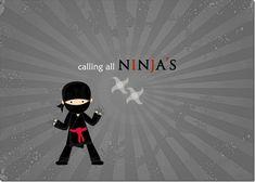 Ninja Party ideas