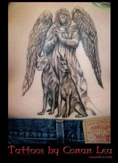 doberman tattoo designs | SO I GOT MY DOBERMAN TATTOO LAST NIGHT WHO'S NEXT!!!????