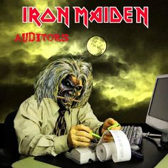 Rejected Iron Maiden Album Art and Concepts - Movies and Comics Iron Maiden Tour, Iron Maiden Live, Iron Maiden Band, Iron Maiden Shirt, Iron Maiden Members, Iron Maiden Mascot, Iron Maiden Album Covers, Iron Maiden Albums, Heavy Metal