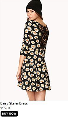 Daisy Skater Dress- Cute :D
