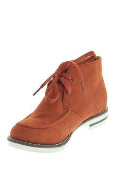 Maker's Shoes Pop 3 Flat Casual Bootie by Brilliant Booties on @HauteLook