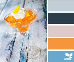 Nursery color combo  Navy with Light Blue and Orange