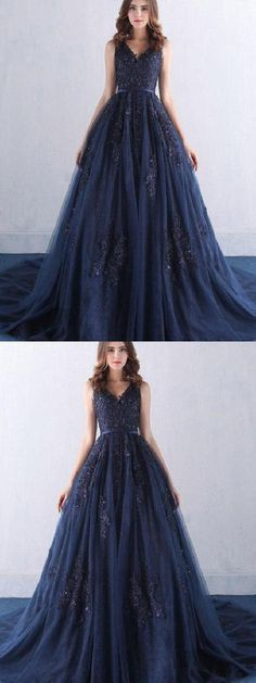 On Sale Absorbing Corset Prom Dresses, Navy Prom Dresses, Lace Prom Dresses, Prom Dresses Long Navy Blue Quinceanera Dresses, Navy Blue Prom Dresses, Blue Evening Dresses, Backless Prom Dresses, Blue Wedding Dresses, A Line Prom Dresses, Long Dresses, Navy Blue Formal Dress, Event Dresses
