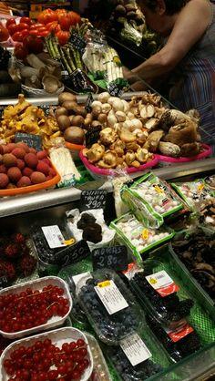 @ Boqueria Market in Barcelona