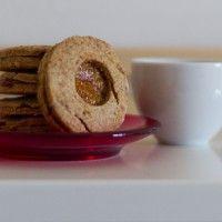 Biscotti Integrali con confettura di Melone