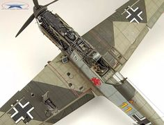 Ww2 Aircraft, Fighter Aircraft, Plastic Model Kits, Plastic Models, Scale Models, Model Kits For Adults, Model Maker, Military Modelling, Military Diorama