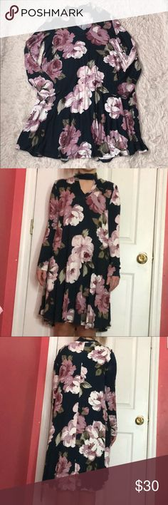 SALE🎉🔥 NWT floral choker dress!🦄 NWT floral choker dress! It has pockets! Size small! So cute for spring!🌸☀️ Dresses