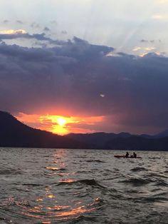 #kayak #valledebravo #atardecer
