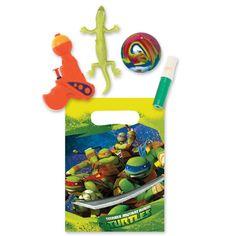 Teenage Mutant Ninja Turtles Filled Party Bag Kit
