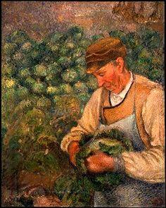 1890 - Camille PISSARRO - le jardinier