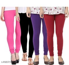 Leggings & Tights  Fancy Fashionista Women Leggings  Fabric: 100% Pure Cotton Lycra Pattern: Solid Multipack: 4 Sizes:  30 (Waist Size: 30 in Length Size: 40 in)  32 (Waist Size: 34 in Length Size: 40 in)  34 (Waist Size: 34 in Length Size: 40 in)  36 (Waist Size: 36 in Length Size: 40 in)  38 (Waist Size: 38 in Length Size: 40 in) Country of Origin: India Sizes Available: Free Size, 28, 30, 32, 34, 36, 38, 40   Catalog Rating: ★3.9 (508)  Catalog Name: Fancy Fashionista Women Leggings CatalogID_1104989 C79-SC1035 Code: 964-6920717-7911