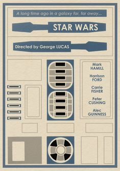 Limited Edition STAR WARS R2-D2 Profile Poster - News - GeekTyrant