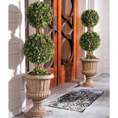 Holly Topiaries