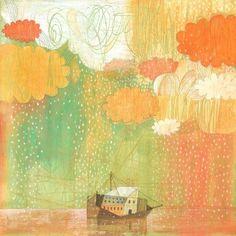 El arca y el diluvio par Aimar Gustavo