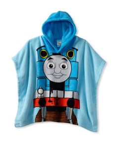 53% OFF AME Toddler Thomas & Friends Hooded Poncho, Multi