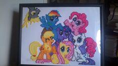 My Little Pony - Derpy Photo Bomb perler beads by Ravenfox-Beadsprites on deviantart