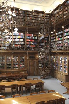 Munich University Law Library, Munich, Germany