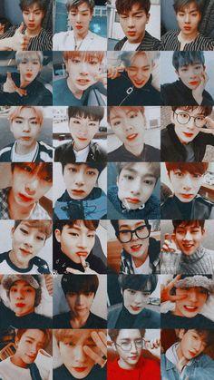 Shownu, Wonho, Kihyun, Hyungwon, Jooheon, Minhyuk, Changkyun