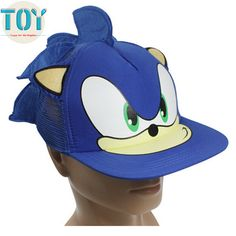 Find More Movies & TV Information about New 1 PCS Blue Sonic The Hedgehog Adjustable Baseball Cap Cartoon Adult Cosplay Hat Perimeter 55cm Free Track Code,High Quality hat fleece,China hat hair Suppliers, Cheap hat clothing from Toys in the Kingdom on Aliexpress.com